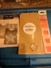 American Tag Large 8 White Tag Pages Chipboard Pockets and Style Stone