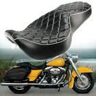 Tour Rider Driver Passenger Seat 2 Up For Harley Road King Glide FLHR 1997 2007