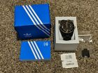 Adidas Watch NWT ADH2904 Black Strap With Gold Accents