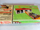 Vintage 1968 Mattel Hot Wheels Super Charger Sprint Race set 6290 w Silhouette