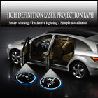 2x Your Customized Logo Wireless Car Door Laser Projector Ghost Shadow LED Lighs