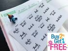 PP479 FUK YOU Snarky Adulting Is Hard Planner Stickers 4 Erin Condren 18pcs