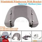 Smoke Flyscreen Windscreen Windshield W Bracket For VESPA LX50 VESPA LX150 05 14