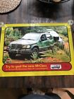 The Lost World M-Class Meecedes SUV 1997 POSTER