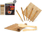 NEW Sushi Maker Super Easy Japanese Making Kit Easy DIY Roller Tools Rice Paddle