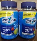 2 One A Day Mens VitaCraves Multi Gummies 70 Each 140 Exp 07 19 or Later