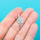 20 pcs KNITTING CHARMS Charm Tibet silver Charms Pendants DIY Jewellery Making
