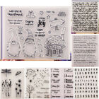 Transparent Silicone Clear Stamp DIY Cling Seal Scrapbook Embossing Album Decor