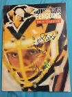 BOB JOHNSON d.91 SIGNED X27 PITTSBURGH PENGUINS 1990 YEARBOOK,Stanley Cup Champs