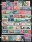 275 DIF USA STAMPS USED UNUSED  797 + 948 SHEETS MINT NEVER HINGED