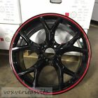 17 CIVIC TYPE R STYLE WHEELS RIMS RED BLACK FITS HONDA CRV ODYSSEY ACURA TSX TL