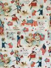 1 2yd Collection of Eden Wille for Marcus Fabrics Patriotic Victorian Kids Theme