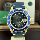 1981 Vintage Rolex Submariner 16808 Full Tropical Dial  Full Set Papers Box
