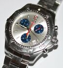 Tag Heuer Men's Aquaracer White Dial CAF1111 Chronograph Sapphire Crystal Watch!