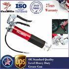 CarBole Red Heavy Duty Deluxe Pistol Grease Gun with 12