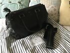 Anya Hindmarch Black Leather Handbag