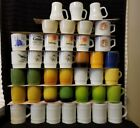 Lot of 41 FIRE KING ANCHOR HOCKING OVEN WARE OVEN PROOF MUGS SEE DESCRIPTION EXC