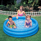 Intex Inflatable Pool 45 x 10 Kids Swimming Pools Outdoor Water Fun Play Blue