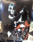KISS Peter Criss Solo POSTER 1977 AUCOIN Paint with Motor Cycle ROLLED