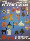 Holiday Magnets  Plastic Canvas Pattern Leaflet  Christmas Halloween Easter