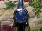 CHRONOSTAR DATE S/S QUARTZ MEN'S WATCH - NEW OLD STOCK !!! NEW LEATHER BAND !!!