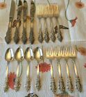 1847 Rogers Bros IS Silver Renaissance Silverplate 4 Place Settings 16 PCS NICE
