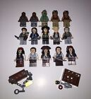 LEGO Pirates of the Caribbean Minifigures Lot Jack Sparrow Angelica Cook Zombie