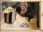 13-14 SP Authentic Future Watch Auto Patch John Gibson Rookie RC #83 100