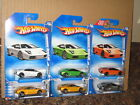 Hot Wheels Lot of 6 Lamborghini Murcielago First Editions Dream Garage Police