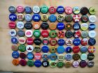 88 ASSORTED BEER BOTTLE CAPS ALL DIFFRENT