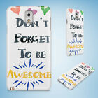 POSITIVE MOTIVATION QUOTES 99 HARD CASE FOR SAMSUNG GALAXY ACE 3 4 ALPHA