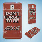 POSITIVE MOTIVATION QUOTES 59 HARD CASE FOR SAMSUNG GALAXY ACE 3 4 ALPHA