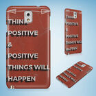 POSITIVE MOTIVATION QUOTES 60 HARD CASE FOR SAMSUNG GALAXY ACE 3 4 ALPHA