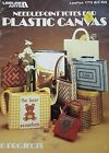 Needlepoint Totes  Plastic Canvas Pattern Leaflet  Butterfly Bear Hearts
