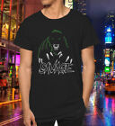 New top banner Black cat 1Sneakers22 savage shirt unisex short sleeve S 2XL
