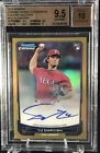 2012 BOWMAN CHROME YU DARVISH ROOKIE RC AUTOGRAPH GOLD REF 15 50 BGS 9.5 10 CUBS