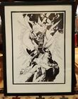 Exclusive Superman Comic Book Art LE 200 by Gil Kane Signed  RARE Framed