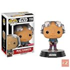 Funko Pop! Star Wars The Force Awakens Maz Kanata Target Exclusive #118 NIB cZ