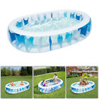 906020 Inflatable Swimming Pool Outdoor Backyard Water Play Fun For Kids US