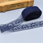 Hot 10 Yards Lace Ribbon 40mm Lace Trim Diy Embroidered For Sewing Decoration