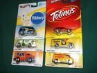 HOT WHEELS 2013 POP CULTURE GENERAL MILLS SERIES SET OF 6 CHEVY FORD AMC PACER