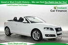 Audi A3 Cabriolet 12 TFSI Sport BAD GOOD CREDIT CAR FINANCE