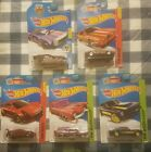 Lot of 5 Hot Wheels Super Treasure Hunt Mustang Delorean 8 Crate Doorslammer MXR