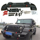 High Quality Rubicon 10th Anniversary Front bumper For Jee p Wrangler JK 07 17