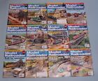 2016 Model Railroader Magazines all 12 issues
