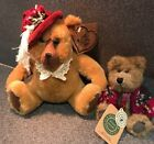 2 Boyd Bears-1 HEARTFELT COLLECTIBLES, 1 Bear Necessities With Tags