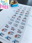 PP441 Pay Monthly Bill Reminders Planner Stickers for Erin Condren 42pcs