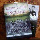 Rugby Clubs Of England by M Crane Author Signed  Rucking  Rolling HB Books