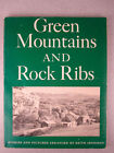 Author Signed Green Mountains and Rock Ribs Book by Keith Jennison Vtg PB Pics