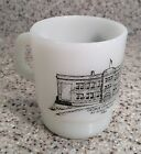 Vintage ANCHOR HOCKING George, Iowa ALL-SCHOOLS REUNION Stackable COFFEE MUG